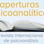 Nuevo número monográfico sobre trauma de Aperturas Psicoanalíticas