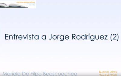 Entrevista a Jorge Rodríguez